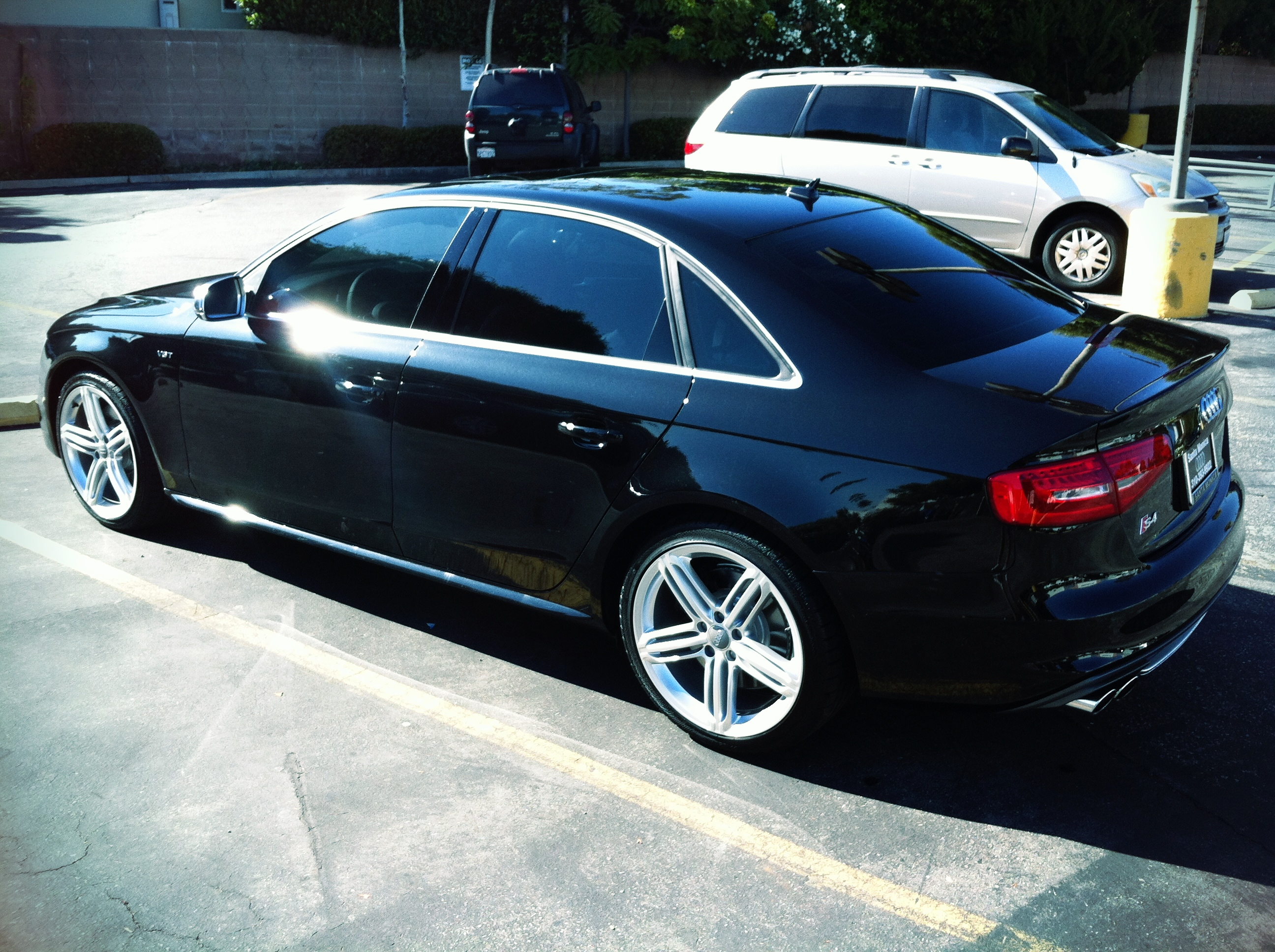2013 S4 with 20% 3M Color Stable Tint