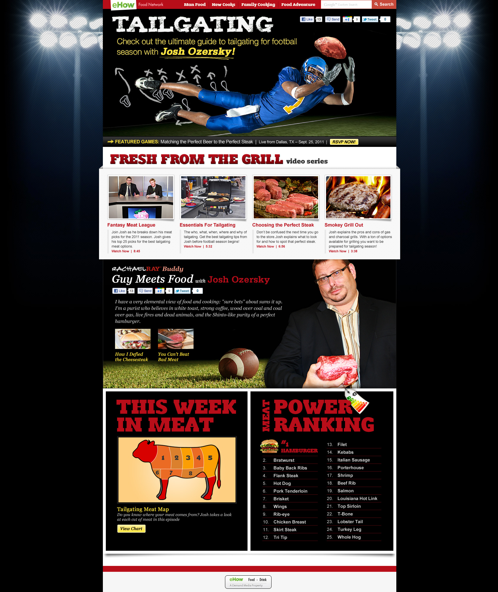 eHow Tailgating Homepage
