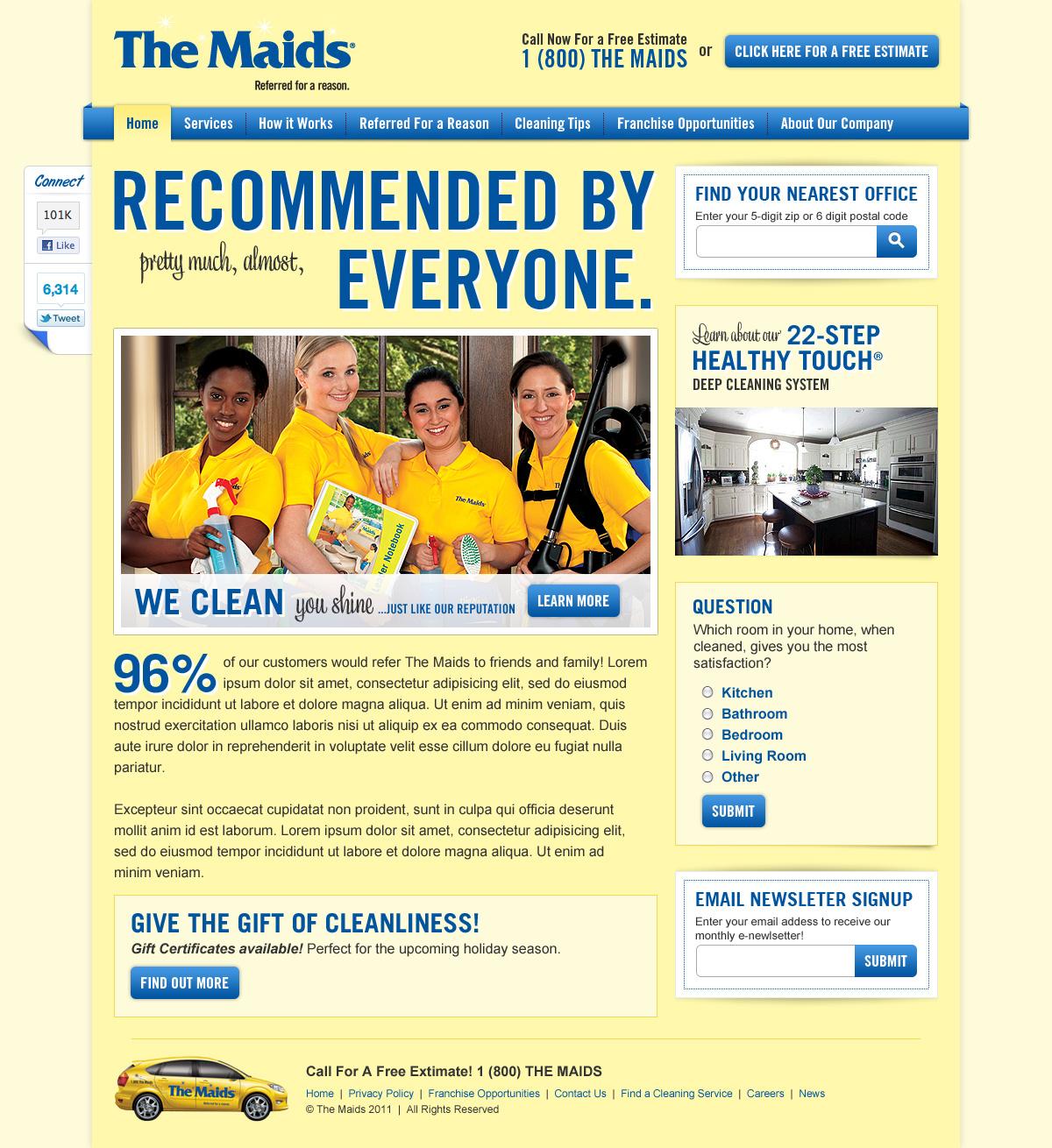 The Maids Homepage