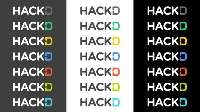 Demand Media Hackathon Logo - Alternative Color Options