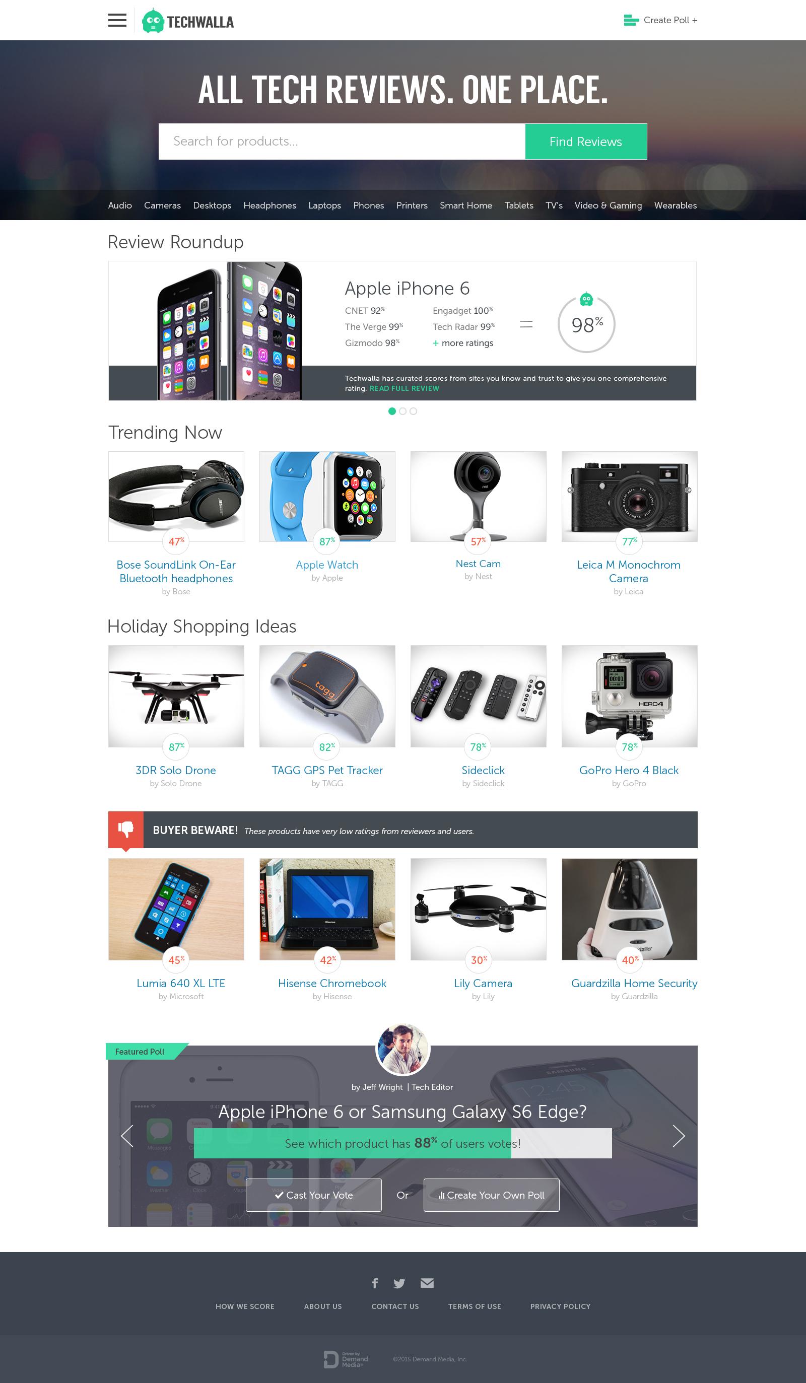 Techwalla Homepage